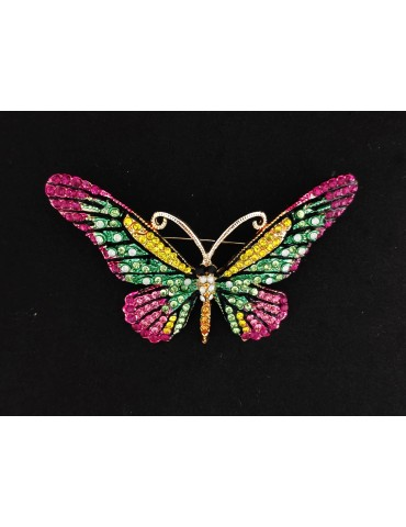 Broche alfiler mariposa...