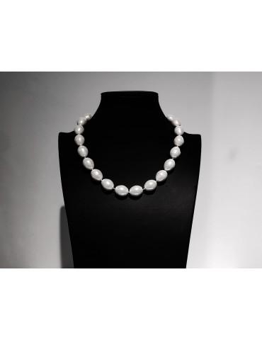 Collar perlas de nácar con...