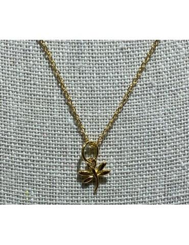 collar mini libélula con...